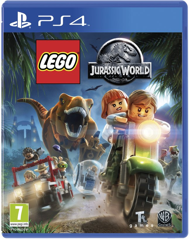 Afbeelding van PS4 LEGO Jurassic World ENG/FR from ColliShop