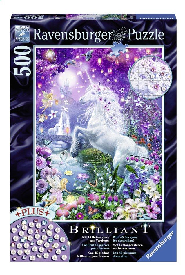 Image pour Ravensburger puzzle Brillant La licorne dans sa forêt enchantée à partir de ColliShop