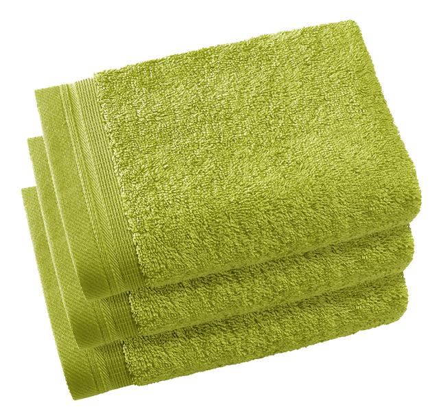Image pour De Witte Lietaer Serviette d'hôtel Contessa lime green 40 x 60 cm - 3 pièces à partir de ColliShop