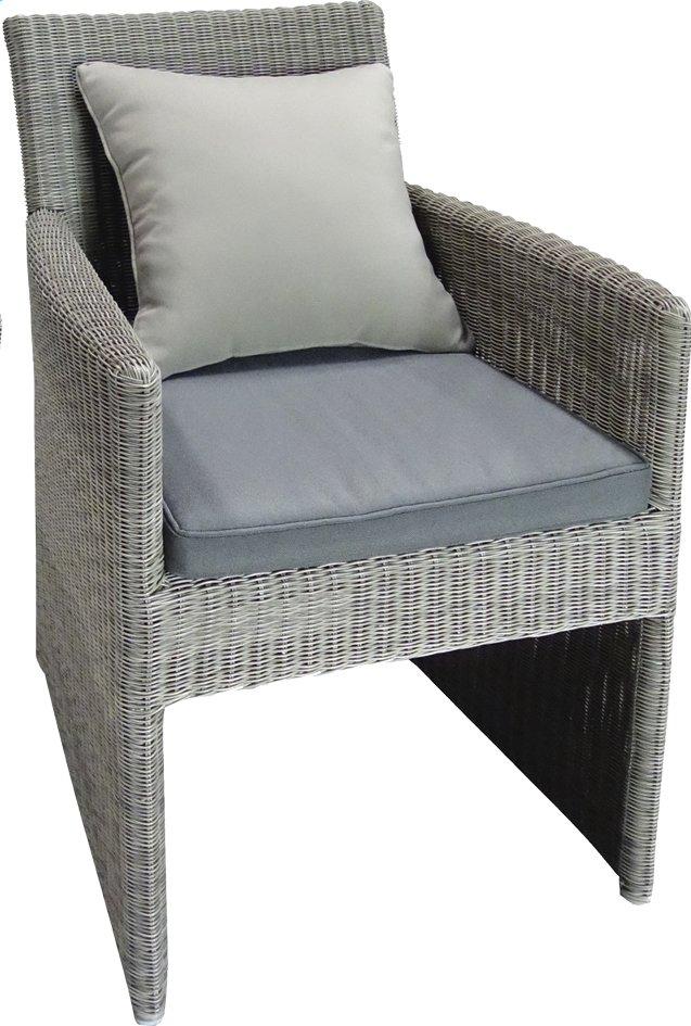 Image pour Siège de jardin Zira gris clair à partir de ColliShop