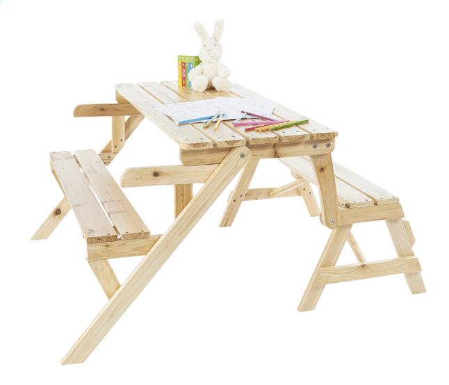 Table De Pique Nique Pour Enfants Banc Elli Collishop
