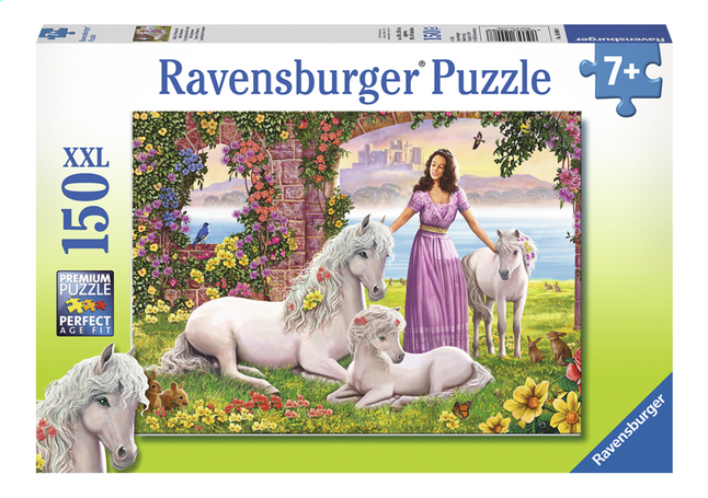 Afbeelding van Ravensburger XXL puzzel Mooie prinses from ColliShop