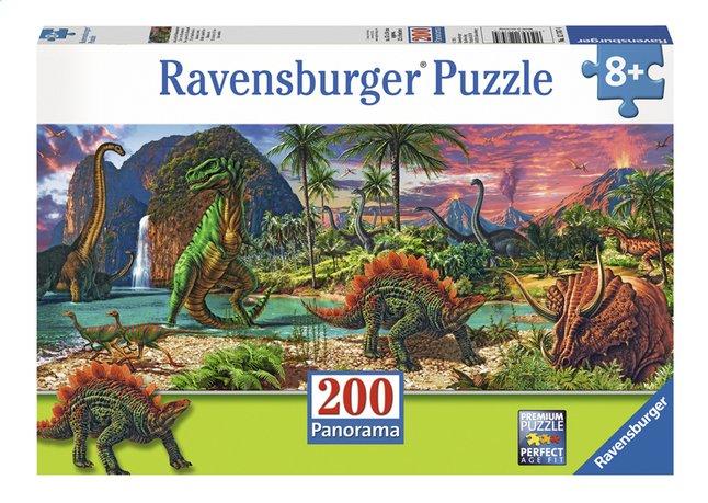 Image pour Ravensburger puzzle XXL Au pays des dinosaures à partir de ColliShop
