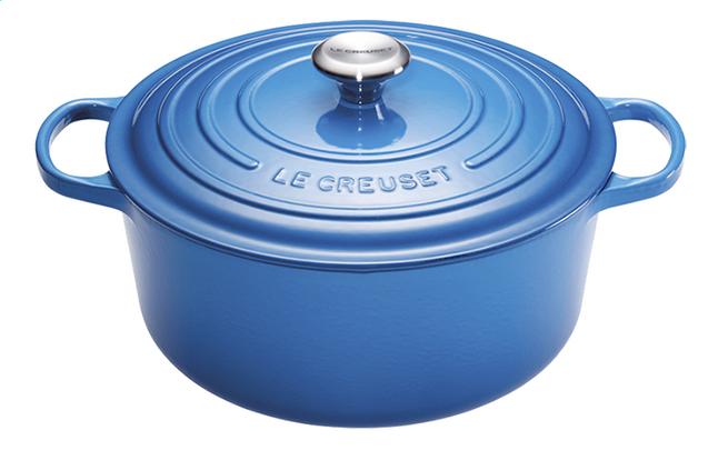 Afbeelding van Le Creuset Ronde stoofpan Signature bleu marseille 30 cm - 8,1 l from ColliShop