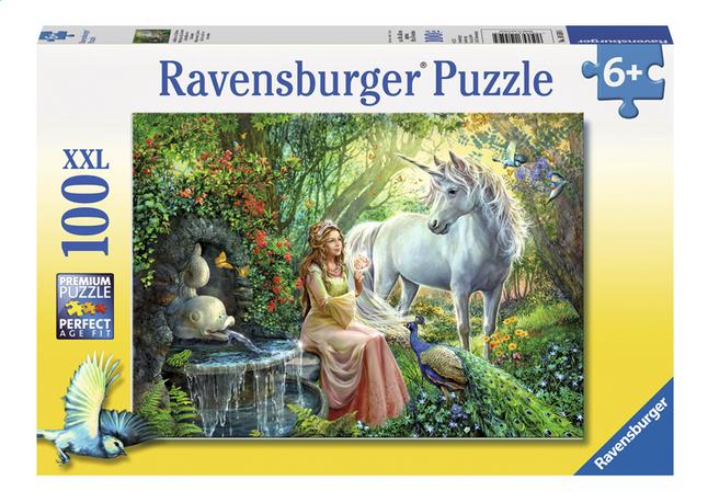 Afbeelding van Ravensburger XXL puzzel In het rijk van de eenhoorns from ColliShop