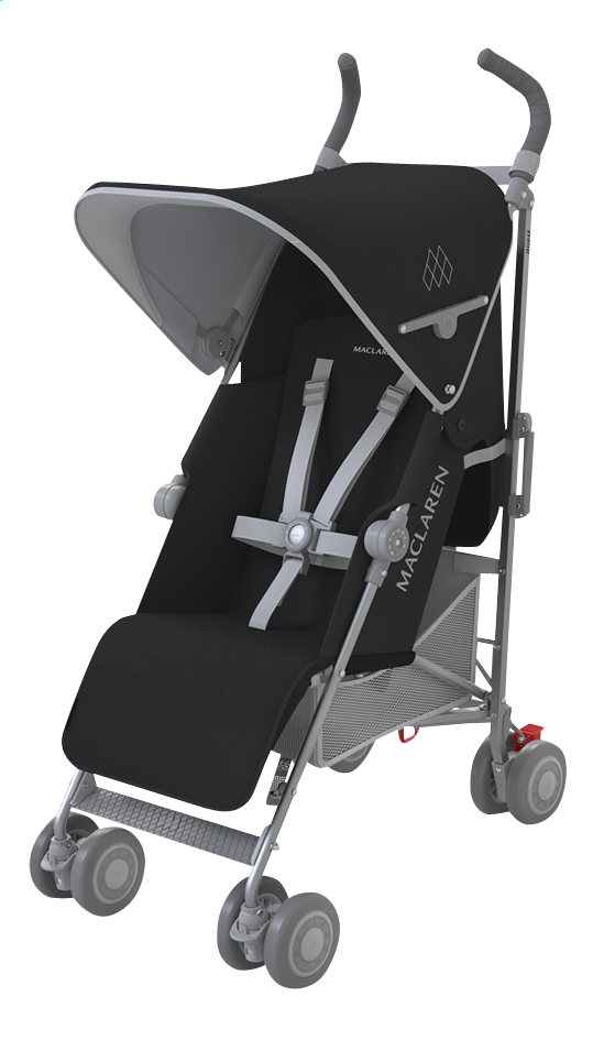 Afbeelding van Maclaren Buggy Quest 2016 black/silver from ColliShop
