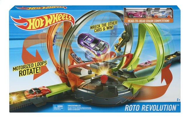 Hot Wheels acrobatische racebaan Roto Revolution