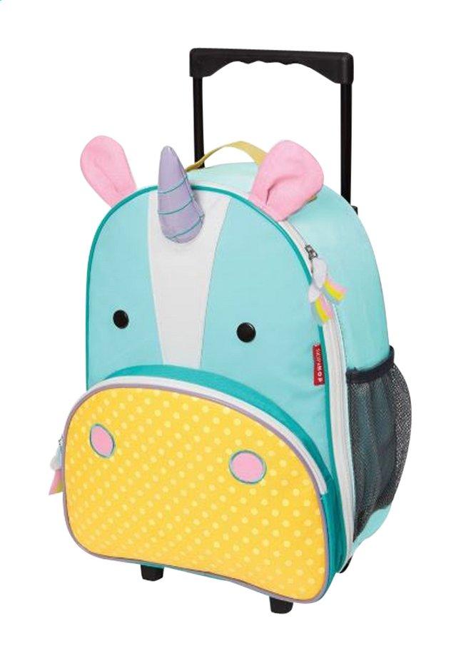 Afbeelding van Skip*Hop zachte reistrolley Zoo Luggage eenhoorn from ColliShop