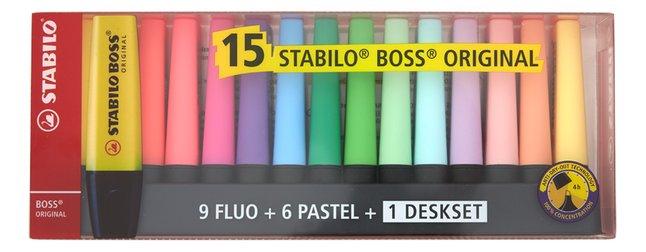 Image pour STABILO BOSS Original surligneur fluo Limited Edition + support à partir de ColliShop
