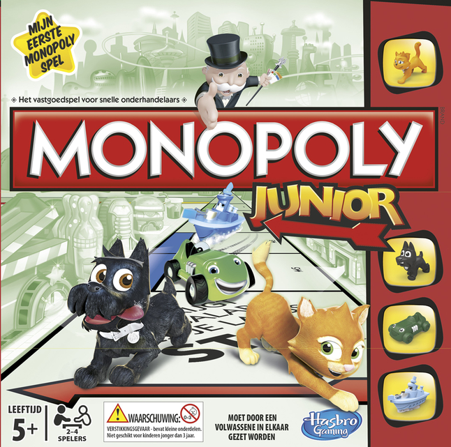 Afbeelding van Monopoly Junior from ColliShop
