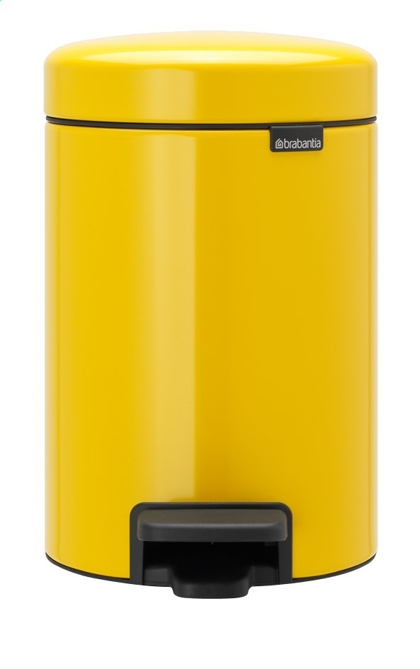Afbeelding van Brabantia Pedaalemmer newIcon Daisy Yellow from ColliShop