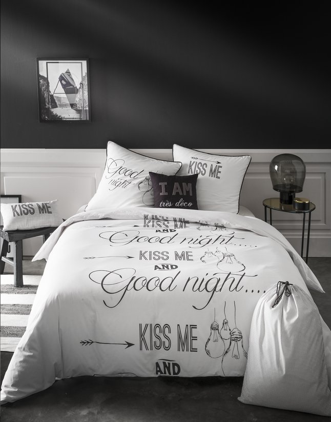 Image pour Future Home Essentiel Housse de couette Good Night coton à partir de ColliShop