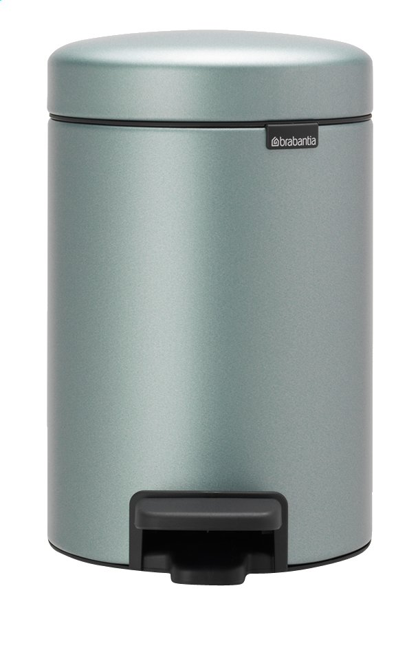 Afbeelding van Brabantia Pedaalemmer newIcon metallic mint 3 l from ColliShop