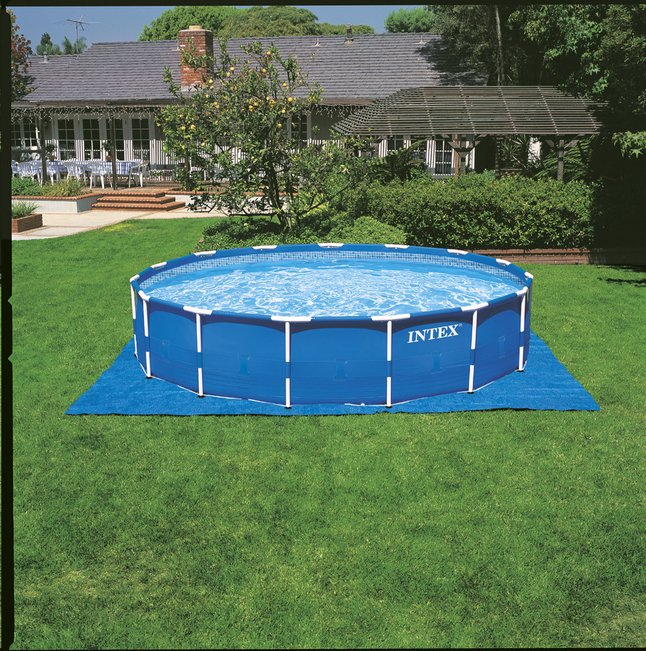 Intex piscine frame pool diam tre 5 49 m collishop for Piscine intex 5 m