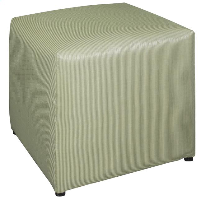 Image pour Siège cube Breeze vert à partir de ColliShop