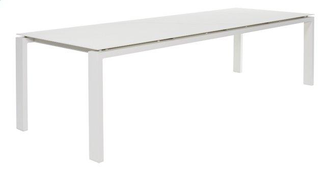 Image pour Table de jardin Arolla blanc céramique L 280 x Lg 100 cm à partir de ColliShop