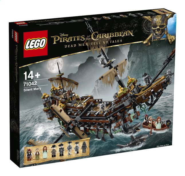 Afbeelding van LEGO Pirates of the Caribbean 71042 Silent Mary from ColliShop