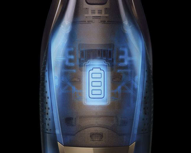 AEG cx7-2-30db X Flexibility 14,4 V 2-in-1 batterie-Aspirateur de denim blue