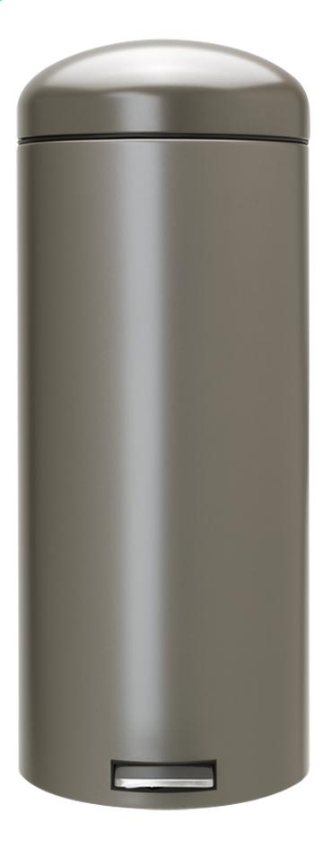 Image pour Brabantia Poubelle à pédale Retro Bin platinum 30 l à partir de ColliShop