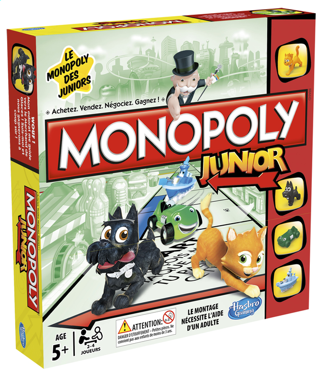 Afbeelding van Monopoly Junior FR from ColliShop