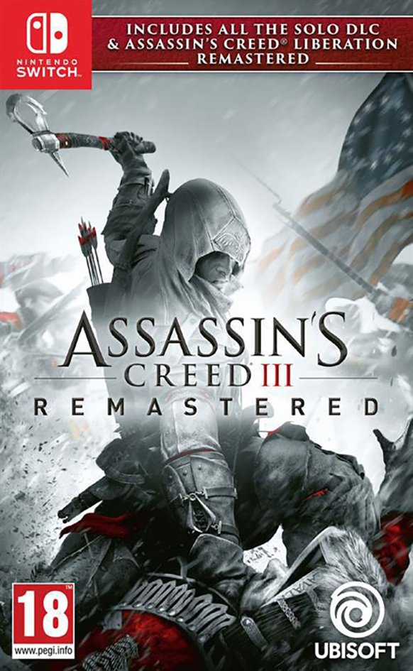 Nintendo Switch Assassin's Creed III + Liberation Remastered FR/ANG