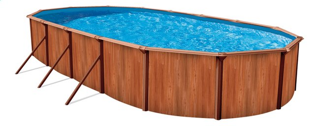 Afbeelding van Atlantic Pools zwembadset Esprit II Redwood 7,32 x 3,66 m from ColliShop