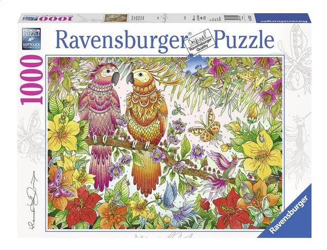 Afbeelding van Ravensburger puzzel Tropische stemming from ColliShop