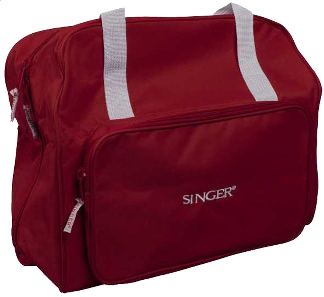 Image pour Singer sac de transport pour machine à coudre rouge à partir de ColliShop