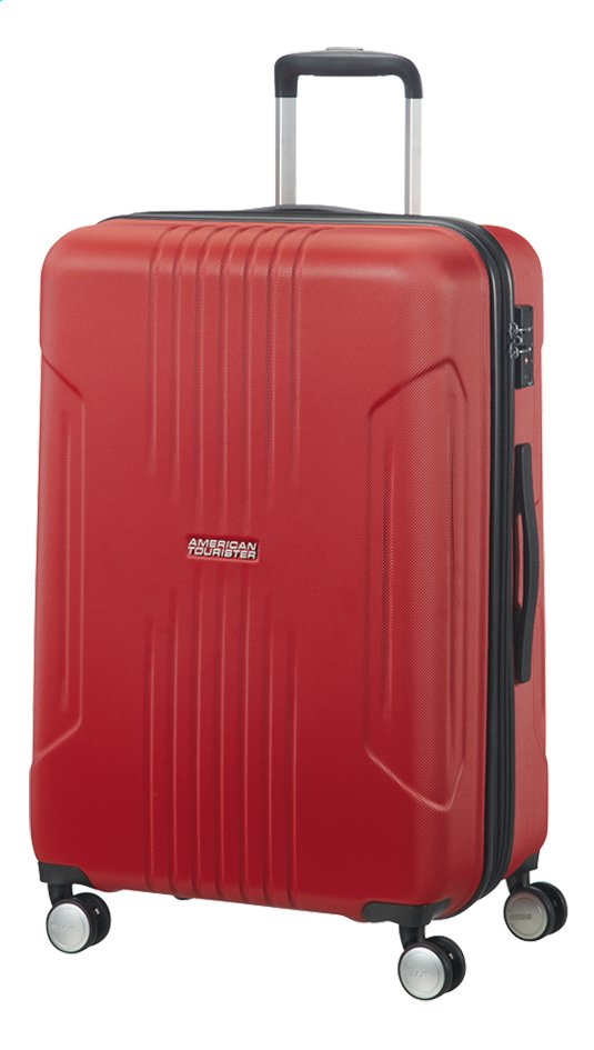 Afbeelding van American Tourister Harde reistrolley Tracklite Spinner flame red 67 cm from ColliShop