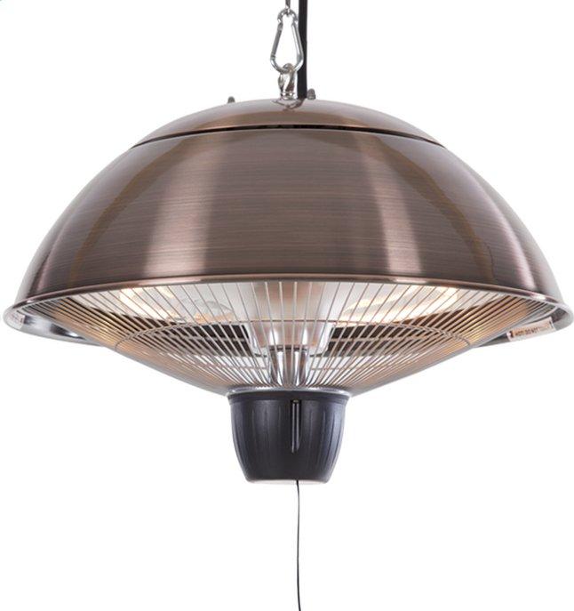 Afbeelding van Sunred Elektrische hangende terrasverwarmer Mushroom 1500 W koper from ColliShop