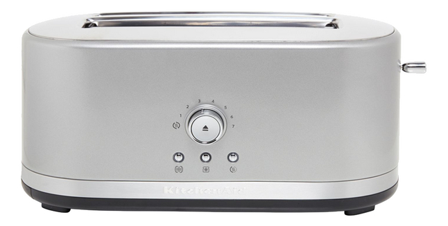 Afbeelding van KitchenAid Broodrooster 5KMT4116ECU contour silver from ColliShop