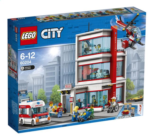 Image pour LEGO City 60204 L'hôpital à partir de ColliShop