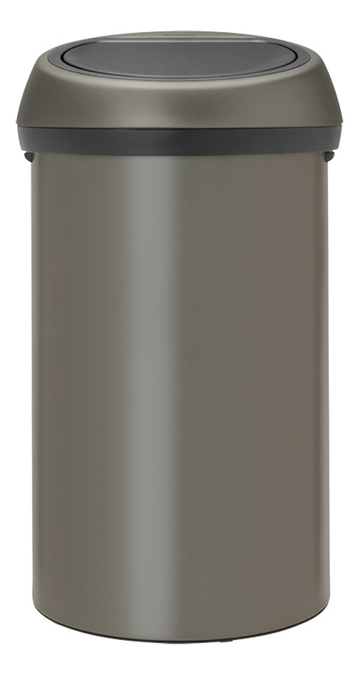Afbeelding van Brabantia Afvalemmer Touch Bin platinum 60 l from ColliShop