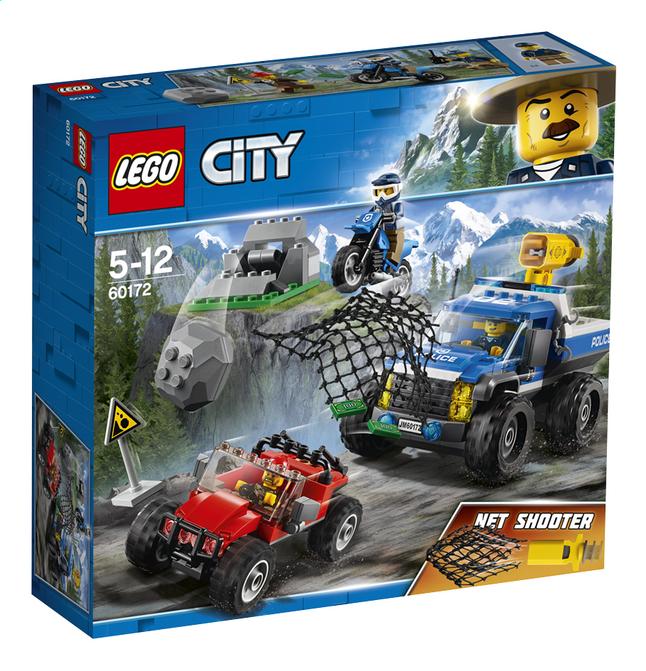 Afbeelding van LEGO City 60172 Modderwegachtervolging from ColliShop
