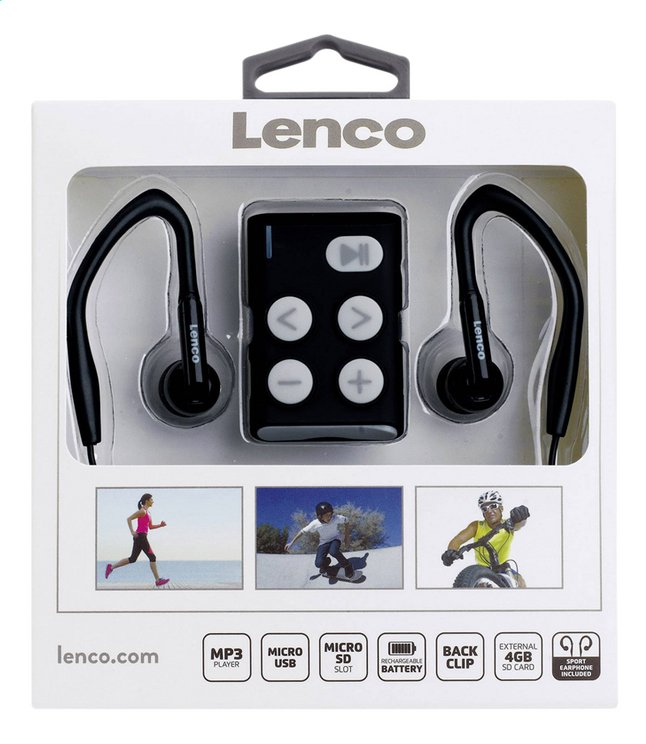 Lenco mp3-speler Xemio 154 4GB grijs