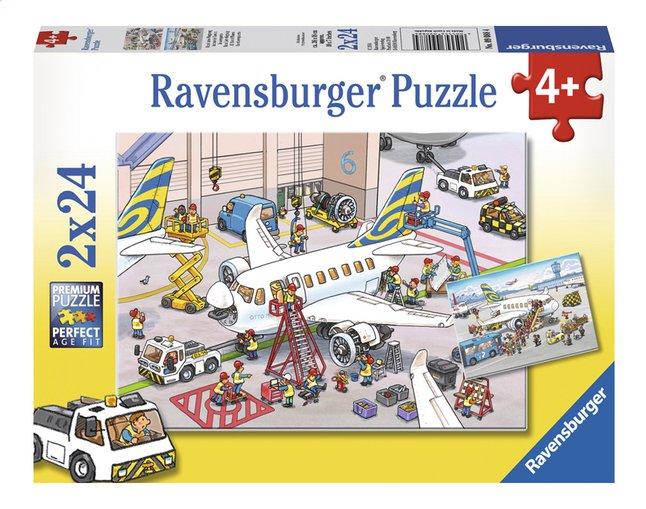 Image pour Ravensburger puzzle 2 en 1 Dans l'aéroport à partir de ColliShop