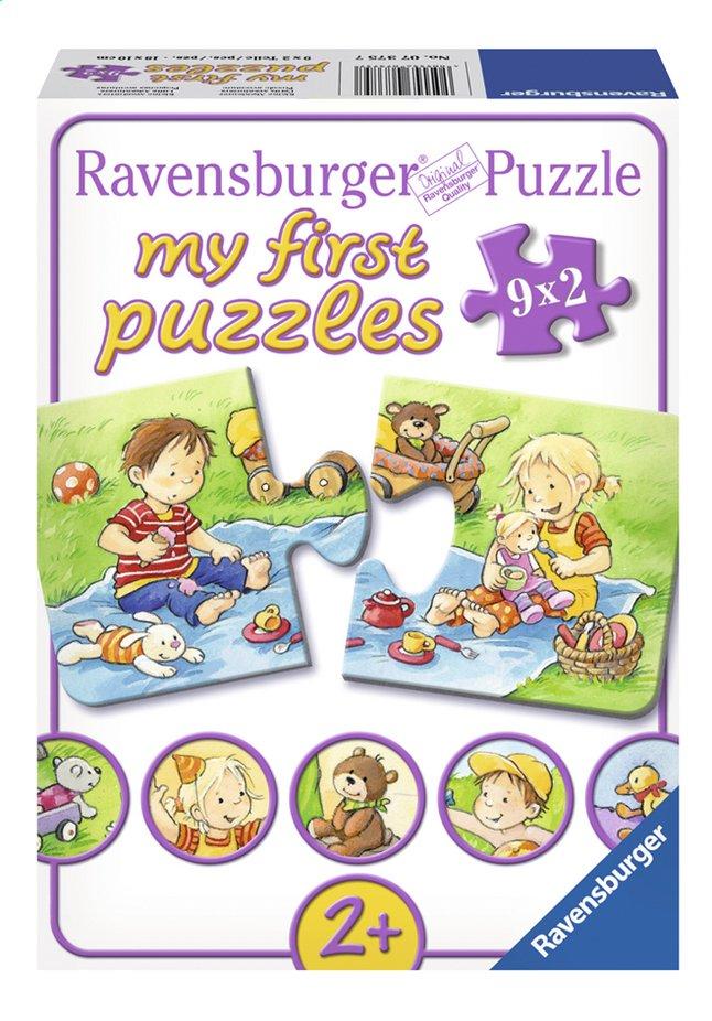 Image pour Ravensburger 9 puzzles My First Petits aventuriers à partir de ColliShop