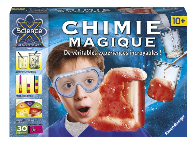 Afbeelding van Ravensburger Science X Chimie Magique FR from ColliShop