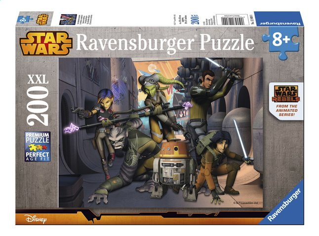 Afbeelding van Ravensburger XXL puzzel Star Wars Rebels from ColliShop