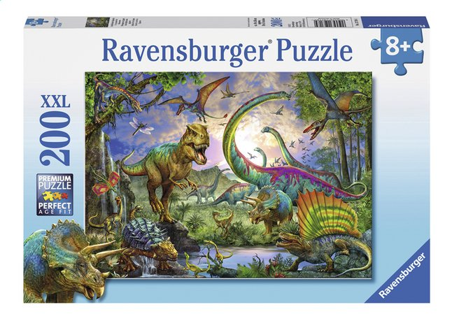 Afbeelding van Ravensburger XXL puzzel In het rijk van de giganten from ColliShop