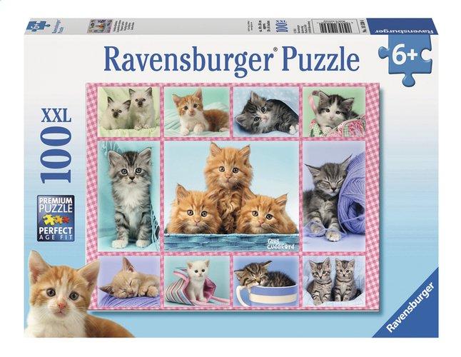 Afbeelding van Ravensburger XXL puzzel Schattige katjes from ColliShop