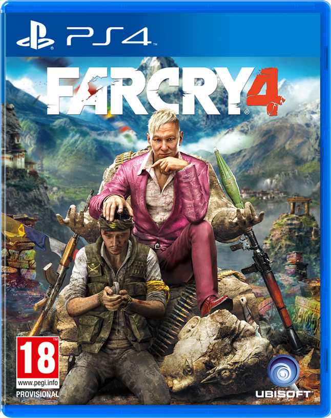 Afbeelding van PS4 Far Cry 4 ENG/FR from ColliShop