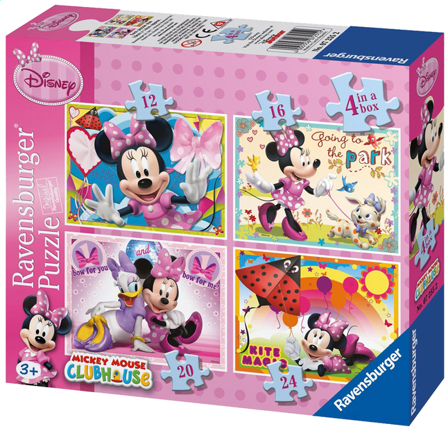 Afbeelding van Ravensburger 4-in-1 meegroeipuzzel Minnie Mouse from ColliShop
