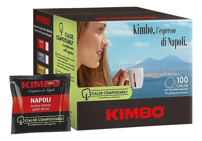 Kimbo Dosettes de café Napoli 7 g - 100 pièces