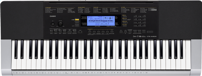 Afbeelding van Casio keyboard CTK-4400 from ColliShop