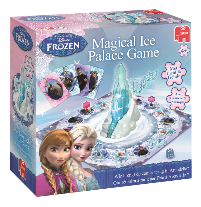 Image pour Disney La Reine des Neiges Magical Ice Palace Game à partir de ColliShop