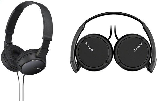 Image pour Sony casque MDR-ZX110 noir à partir de ColliShop