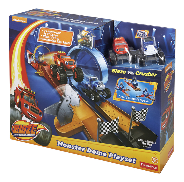 Image pour Fisher-Price set de jeu Blaze et les Monster Machines Monster Dome à partir de ColliShop