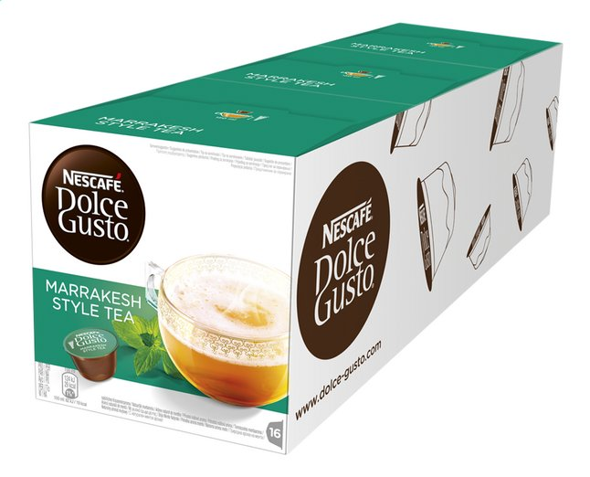 Afbeelding van Nescafé Capsules Dolce Gusto Marrakesh style tea - 3 dozen from ColliShop