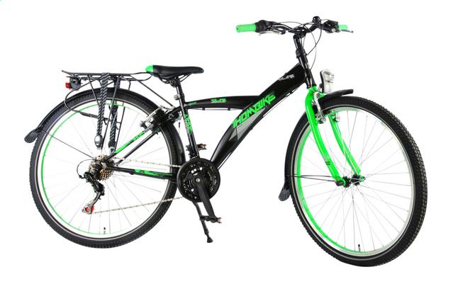 Afbeelding van Volare citybike Thombike zwart/groen 26
